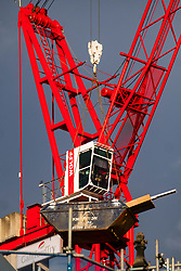 Cranes tower above Sheffield city centre as 'The Heart of the City' redevelopment continues through the COVID 19 pandemic lockdowns<br /> <br /> 05 January 2020<br /> <br /> www.pauldaviddrabble.co.uk<br /> All Images Copyright Paul David Drabble - <br /> All rights Reserved - <br /> Moral Rights Asserted -