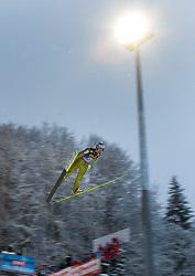 06.01.2012, Paul Ausserleitner Schanze, Bischofshofen, AUT, 60. Vierschanzentournee, FIS Ski Sprung Weltcup, Qualifikation, im Bild Michael Hayboeck (AUT) // Michael Hayboeck of Austria during qualification of 60th Four-Hills-Tournament FIS World Cup Ski Jumping at Paul Ausserleitner Schanze, Bischofshofen, Austria on 2012/01/06. EXPA Pictures © 2012, PhotoCredit: EXPA/ Johann Groder