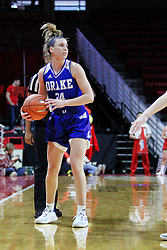 NORMAL, IL - January 06: Nicole Miller during a college women's basketball game between the ISU Redbirds and the Drake Bulldogs on January 06 2019 at Redbird Arena in Normal, IL. (Photo by Alan Look)