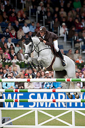 Staut Kevin (FRA) - Silvana de Hus<br /> World Equestrian Festival, CHIO Aachen 2011<br /> © Dirk Caremans