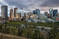 Downtown Calgary & Bow River