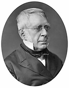 George Biddell Airy (1801-1892) English astronomer and geophysicist. Astronomer Royal (1835-1881). Photograph published 1877. Woodburytype