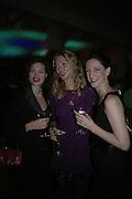 JASMINE GUINNESS,   JODIE KIDD AND MARIA GRACHVOGEL,  Oli fashion launch. Haymarket Hotel. London. 4 July 2007.  -DO NOT ARCHIVE-© Copyright Photograph by Dafydd Jones. 248 Clapham Rd. London SW9 0PZ. Tel 0207 820 0771. www.dafjones.com.