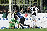 Gol Ivan Perisic (not pictured) Inter 2-1 Goal celebration <br /> Milano 28-04-2018 Stadio Giuseppe Meazza in San Siro Football Calcio Serie A 2017/2018 Inter - Juventus Foto Andrea Staccioli / Insidefoto