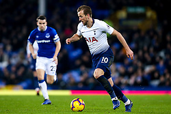 Harry Kane of Tottenham Hotspur - Mandatory by-line: Robbie Stephenson/JMP - 23/12/2018 - FOOTBALL - Goodison Park - Liverpool, England - Everton v Tottenham Hotspur - Premier League