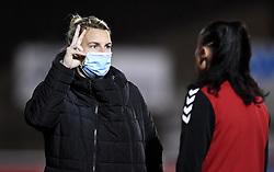 Tanya Oxtoby manager of Bristol City Women prior to kick off - Mandatory by-line: Ryan Hiscott/JMP - 13/01/2021 - FOOTBALL - Twerton Park - Bath, England - Bristol City Women v Aston Villa Women - FA Continental Cup quarter final