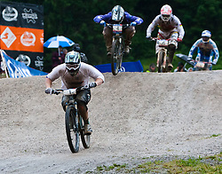 12.06.2011, Bikepark, Leogang, AUT, UCI MOUNTAINBIKE WORLDCUP, LEOGANG, im Bild Jared GRAVES, Sieger // during the UCI MOUNTAINBIKE WORLDCUP, LEOGANG, AUSTRIA, 2011-06-12, EXPA Pictures © 2011, PhotoCredit: EXPA/ J. Feichter , on June 11, 2011.
