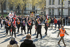 Orange Order March, London, 13 April 2019