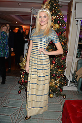 PIXIE LOTT at the Fortnum & Mason and Quintessentially Foundation Fayre of St.James's in association with The Crown Estate held at St.James's Church, Piccadilly followed but a reception at Fortnum & Mason, Piccadilly,London on 5th December 2013.