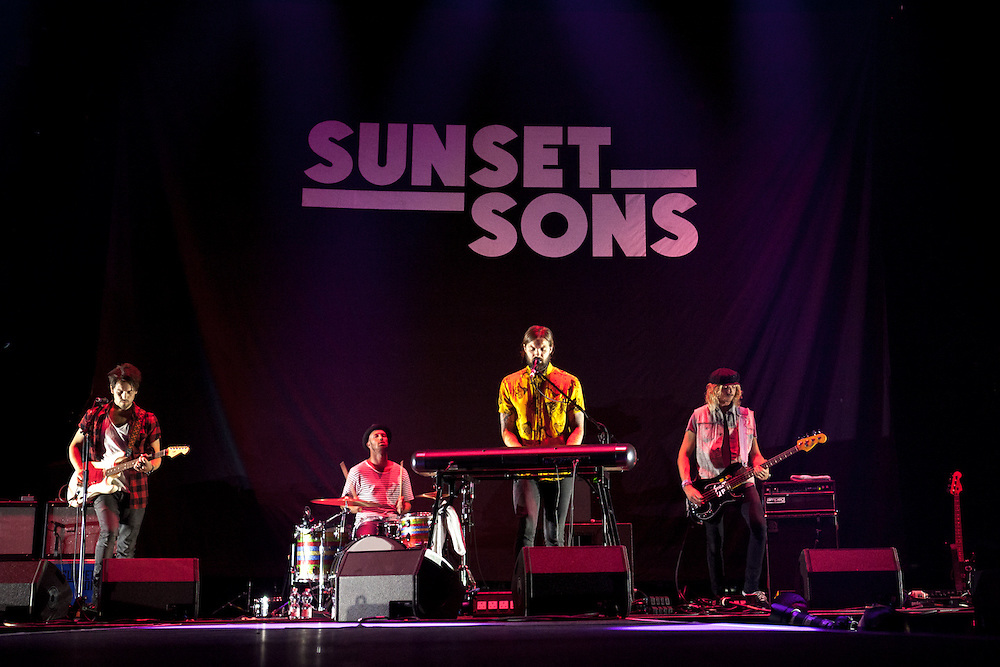 SUNSET SONS | Supporting Act for IMAGINE DRAGONS |Oberhausen | 2015-10-11