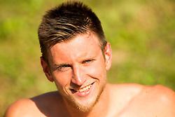 Robert Zbogar of PK Gorenjska Banka Radovljica after he competed in 50m Butterfly during Slovenian Swimming National Championship 2014, on August 2, 2014 in Ravne na Koroskem, Slovenia. Photo by Vid Ponikvar / Sportida.com