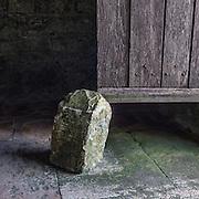 Door stop, St. Aldhelm's Chapel, Dorset.