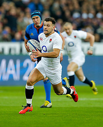 England Scrum-Half Danny Care breaks clear going on to score a try - Mandatory byline: Rogan Thomson/JMP - 19/03/2016 - RUGBY UNION - Stade de France - Paris, France - France v England - RBS 6 Nations 2016.
