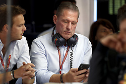 May 12, 2018 - Barcelona, Spain - Motorsports: FIA Formula One World Championship 2018, Grand Prix of Spain, .Jos Verstappen, father of #33 Max Verstappen (NLD, Aston Martin Red Bull Racing) (Credit Image: © Hoch Zwei via ZUMA Wire)