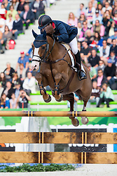 Michael Whitaker, (GBR), Viking - Team & Individual Competition Jumping Speed - Alltech FEI World Equestrian Games™ 2014 - Normandy, France.<br /> © Hippo Foto Team - Leanjo De Koster<br /> 02-09-14