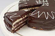 Chocolate Vanilla cake