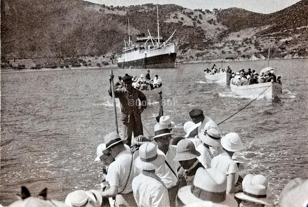1950s cruise ship recreation travel