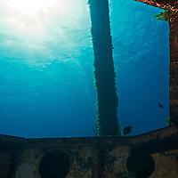 Exit First Platform, USS Kittiwake, Grand Cayman