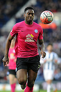 Peterborough's Ricardo Santos in action. The Emirates FA Cup, 4th round match, West Bromwich Albion v Peterborough Utd at the Hawthorns stadium in West Bromwich, Midlands on Saturday 30th January 2016. pic by Carl Robertson, Andrew Orchard sports photography.