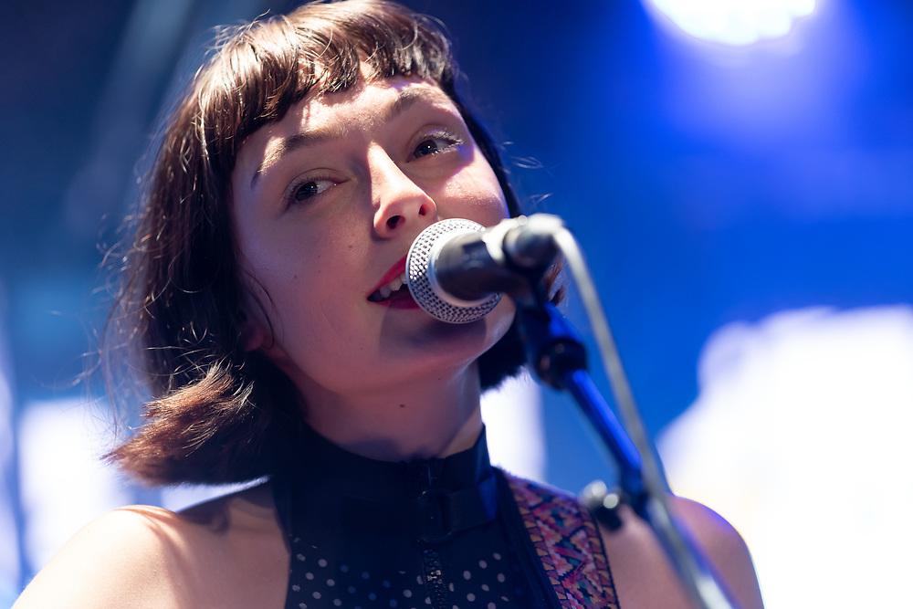 Australian singer-songwriter Stella Donnelly at Haldern Pop Festival
