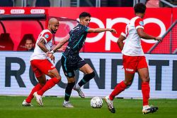 Sean Klaiber of FC Utrecht, Anas Tahiri of RKC Waalwijk during eredivisie round 03 between FC Utrecht and RKC at Nieuw Galgenwaard stadium on September 27, 2020 in Utrecht, Netherlands