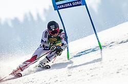 FAIVRE Mathieu of France competes during the Audi FIS Alpine Ski World Cup Men's Giant Slalom 58th Vitranc Cup 2019 on March 9, 2019 in Podkoren, Kranjska Gora, Slovenia. Photo by Matic Ritonja / Sportida
