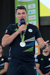 Vasilij Zbogar during reception of Slovenian Olympic Team at BTC City when they came back from Rio de Janeiro after Summer Olympic games 2016, on August 26, 2016 in Ljubljana, Slovenia. Photo by Matic Klansek Velej / Sportida