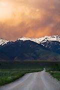 Madison Range, Montana.