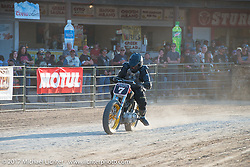 Flat track and Hooligan racing at the Buffalo Chip during the annual Sturgis Black Hills Motorcycle Rally. Sturgis, SD, USA. Wednesday August 9, 2017. Photography ©2017 Michael Lichter.