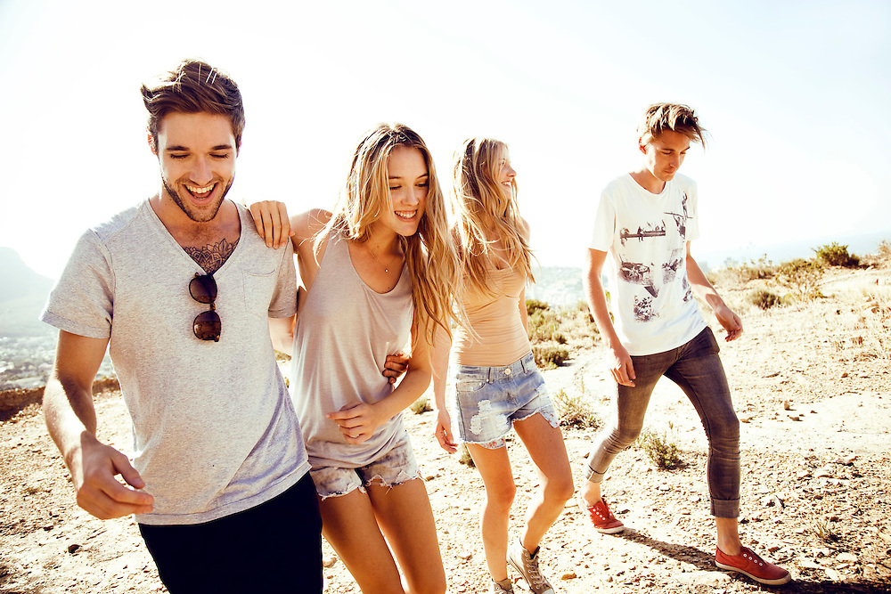 Summer lifestyle shoot in Cape Town