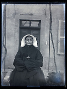 portrait of a nun France 1933