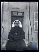 portrait of a nun France 1933