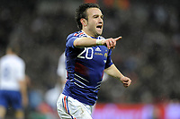 FOOTBALL - INTERNATIONAL FRIENDLY GAME - ENGLAND v FRANCE - 17/11/2010 - PHOTO JEAN MARIE HERVIO / DPPI - JOY MATHIEU VALBUENA (FRA) AFTER HIS GOAL