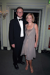 MARIELLA FROSTRUP and her husband JASON McCUE attending the 27th Awards of the London Film Critics' Circle 2007 in aid of the NSPCC held at The Dorchester, Park Lane, London on 8th February 2007.<br /><br />NON EXCLUSIVE - WORLD RIGHTS