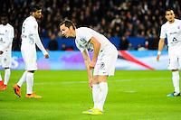 Deception Kevin LEJEUNE - 28.04.2015 - Paris Saint Germain / Metz - Match en retard - 32eme journee Ligue 1<br />Photo : Nolwenn Le Gouic / Icon Sport