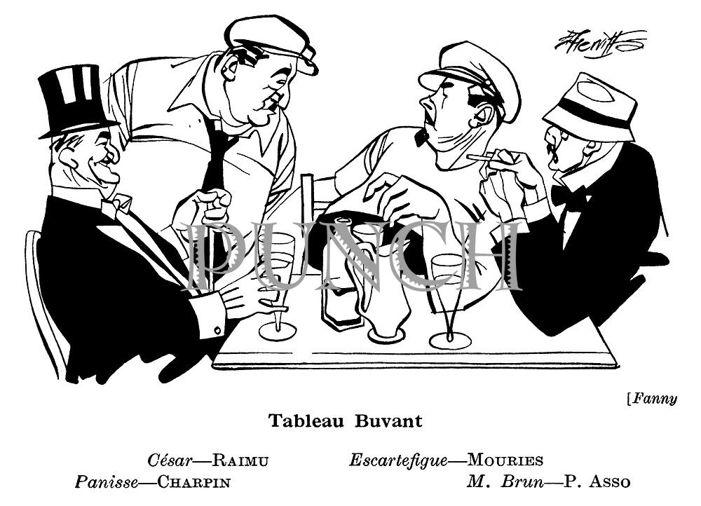 Fanny ; Charpin , Raimu , Mouries and P Asso