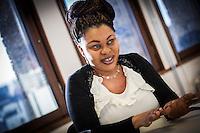 Phyllis Kobi har startat företaget Homemade med hjälp av stiftelsen Ester i Helsingborg.