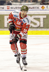 21.03.2017, Eiswelle, Bozen, ITA, EBEL, HCB Suedtirol Alperia vs UPC Vienna Capitals, Playoff, Halbfinale, 4. Spiel, im Bild Mikko Luoma (HCB Suedtirol) // during the Erste Bank Icehockey League, playoff semifinal 4th match between HCB Suedtirol Alperia and UPC Vienna Capitals at the Eiswelle in Bozen, Italy on 2017/03/21. EXPA Pictures © 2017, PhotoCredit: EXPA/ Johann Groder