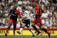 Photo: Rich Eaton.<br /> <br /> Derby County v Southampton. Coca Cola Championship.<br /> <br /> 06/08/2006. Derbys substitute Paul Peschisolido scores Derbys last minute equaliser