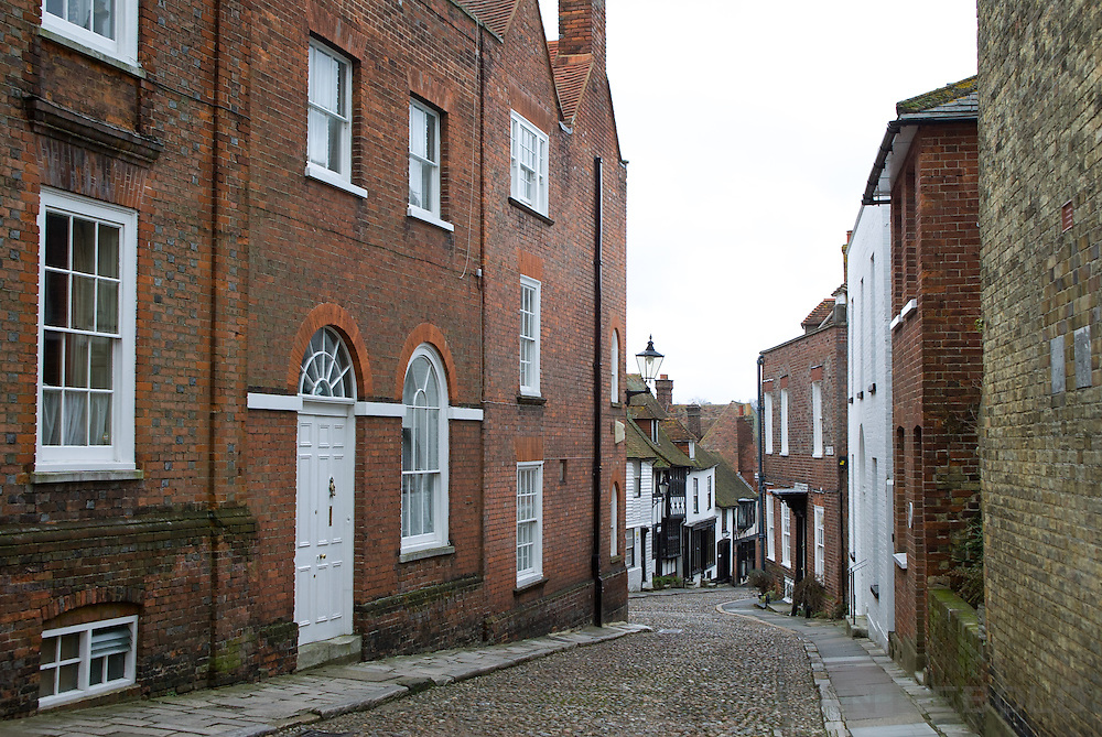 A street in Rye, England.