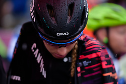 Pauline Ferrand Prevot on the start line at Strade Bianche - Elite Women 2018 - a 136 km road race on March 3, 2018, starting and finishing in Siena, Italy. (Photo by Sean Robinson/Velofocus.com)