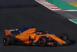 March 6, 2018 - Barcelona, Catalonia, Spain - March 6th, 2018 - Circuit de Barcelona-Catalunya, Montmelo, Spain - Formula One preseason 2018; Stoffel Vandoorne of Team McLaren-Honda, McLaren MCL33. (Credit Image: © Eric Alonso via ZUMA Wire)