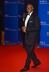 Former Chairman of the Republican National Committee Michael Steele arrives for the White House Correspondents' Association (WHCA) dinner in Washington, D.C., on Saturday, April 29, 2017 (Photo by Riccardo Savi)  *** Please Use Credit from Credit Field ***