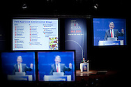 6th IAS Conference on HIV Pathogenesis, Treatment and Prevention (IAS 2011) Conference in Rome, Italy, held in the Auditorium Parco della Musica..MOSS01 .Special Session: Advancement of Science and Research on HIV..Photo shows: Anthony Fauci, National Institute of Allergy and Infectious Diseases at the National Institute of Health, USA.Photo©IAS/Steve Forrest/Workers' Photos