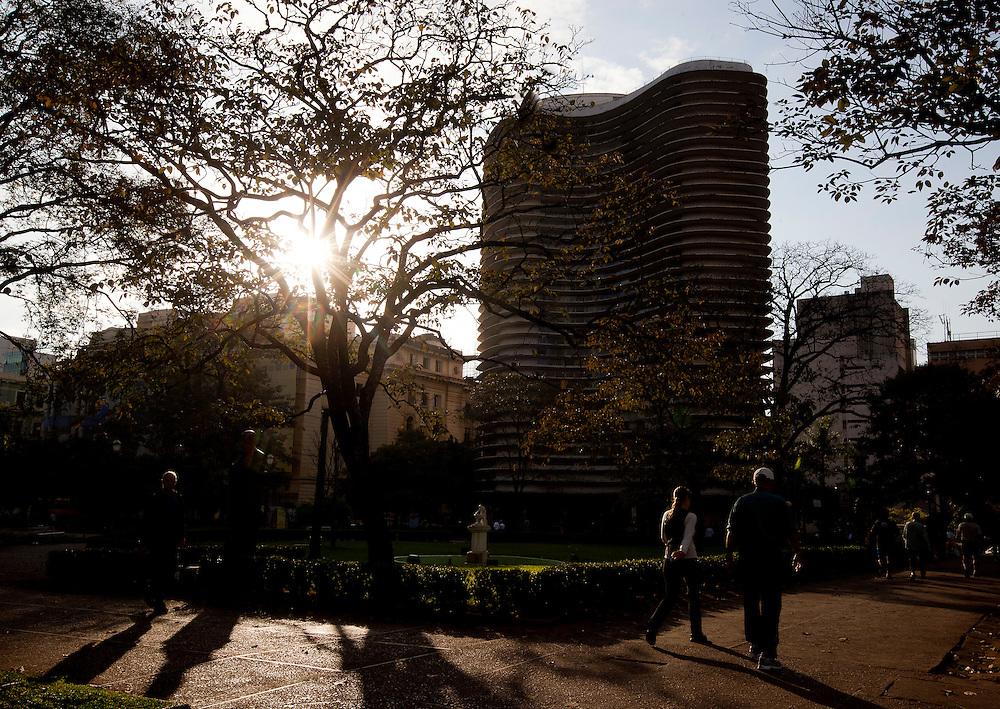Belo Horizonte, Brasil...Circuito Cultural Praca da Liberdade em Belo Horizonte, Minas Gerais. Na foto Edificio Niemeyer...Liberdade Square Cultural Circuit in Belo Horizonte, Minas Gerais. In this photo Niemeyer edifice. ..Foto: BRUNO MAGALHAES / NITRO