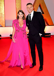 Alex Bowen and Olivia Buckland attending the National Television Awards 2019 held at the O2 Arena, London. PRESS ASSOCIATION PHOTO. Picture date: Tuesday January 22, 2019. See PA story SHOWBIZ NTAs. Photo credit should read: Ian West/PA Wire