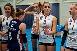 29-09-2018 NED: Supercup Sliedrecht Sport - Eurosped, Sliedrecht<br /> Sliedrecht takes the first price of the new season / Jolijn de Haan #4 of Sliedrecht Sport