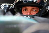 ROSBERG nico (ger) mercedes gp mgp w06 portrait during 2015 Formula 1 FIA world championship, Bahrain Grand Prix, at Sakhir from April 16 to 19th. Photo Florent Gooden / DPPI