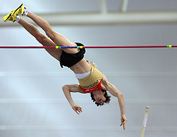 Malte Mohr of Germany in the Pole Vault men Qualification at the 2nd day of  European Athletics Indoor Championships Torino 2009 (6th - 8th March), at Oval Lingotto Stadium,  Torino, Italy, on March 6, 2009. (Photo by Vid Ponikvar / Sportida)