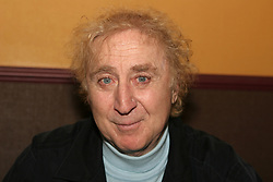 GENE WILDER, (born Jerome Silberman, June 11, 1933 - August 28, 2016) was an American stage and screen comic actor, screenwriter, film director, and author. He was known best for the lead role in the 1971 film 'Willy Wonka in Willy Wonka & the Chocolate Factory,' and the Mel Brooks comedies 'Blazing Saddles', and 'Young Frankenstein', which Wilder co-wrote, garnering the pair an Academy Award nomination for Best Adapted Screenplay. Wilder died at age 83 from complications from Alzheimer's disease. PICTURED:  (File Photo) - Apr 11, 2005 - San Francisco, California, U.S. - Actor, Director and Producer, GENE WILDER autographed his new book 'Kiss Me Like a Stranger - My Search For Love and Art'. Wilder signed his new book and audio book in the lobby of the Balboa Theatre, in conjunction with the sold out screenings of 2 movies for which he is famous 'Young Frankenstein' and 'Willy Wonka & the Chocolate Factory'. Wilder was the husband of the late Gilda Radner.  (Credit Image: Dane Andrew/ZUMAPRESS.com)